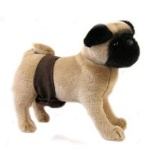 Soft Suede Dog Belly Band by Doggie Design - Brown