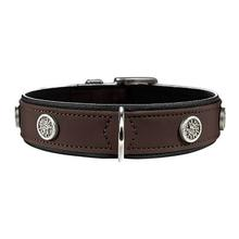 Softie Athen Dog Collar by HUNTER - Brown/Black