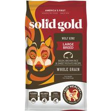 Solid Gold Wolf King Large Breed Dry Dog Food - Bison, Brown Rice & Sweet Potato Recipe