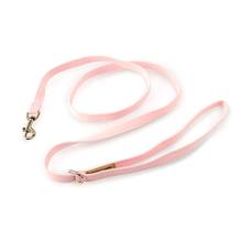 Solid Ultrasuede Dog Leash by Susan Lanci - Puppy Pink