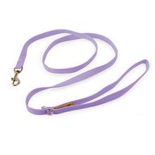 Solid Ultrasuede Dog Leash by Susan Lanci - French Lavender