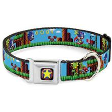 Sonic Game Seatbelt Buckle Dog Collar by Buckle-Down
