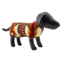 Southwestern Blanket Dog Coat - Brown