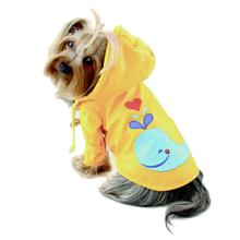Splashing Whale Dog Raincoat By Klippo