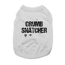 Crumb Snatcher Dog Shirt - Gray