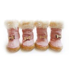 Bone Pawgglys Dog Boots - Blush Pink