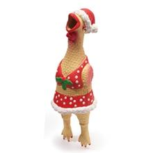 Squawker's Family Dog Toy - Christmas Henrietta