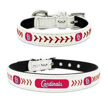 St. Louis Cardinals Leather Dog Collar