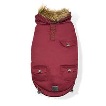 St. Moritz Dog Jacket - Wine Red