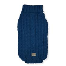 St. Moritz Dog Sweater - Blue Jeans