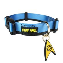 Star Trek Uniform Dog Collar - Blue