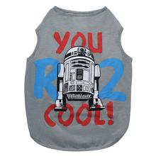 Star Wars You R2 Cool Dog Tank - Gray