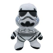 Star Wars Plush Flattie Dog Toy - Storm Trooper