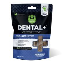 Stashios Dental+ Sticks with Skin & Coat Support Dog Treats