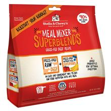 Stella & Chewy's Superblends Freeze Dried Meal Mixer Dog Food Topper - Beef