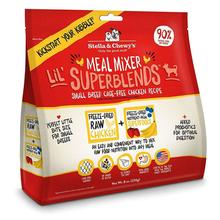 Stella & Chewy's Lil' Superblends Freeze Dried Meal Mixer Small Breed Dog Food Topper - Chicken