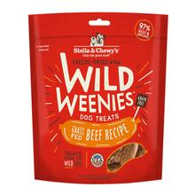 Stella & Chewy's Wild Weenies Freeze-Dried Raw Dog Treats - Beef