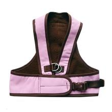 Step Easy Adjustable Dog Harness - Pink and Chocolate