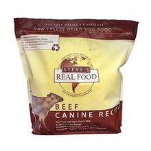 Steve's Real Food Freeze-Dried Raw Nuggets Pet Treats - Beef