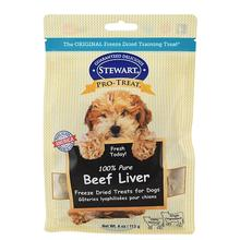 Stewart Pro-Treat Beef Liver Dog Treat Pouch