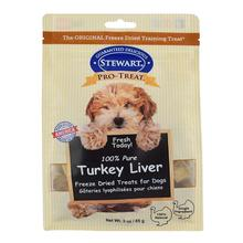 Stewart Pro-Treat Turkey Liver Dog Treat Pouch