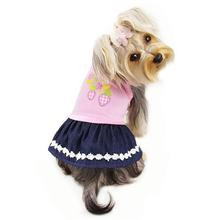 Strawberry Picnic Dog Dress by Klippo