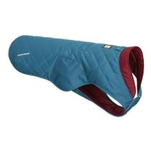 Stumptown Dog Jacket by RuffWear - Metolius Blue