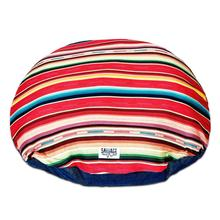 Sundance Serape Circulo Dog Bed by Salvage Maria - Red