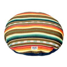 Sundance Serape Circulo Dog Bed by Salvage Maria - Brown