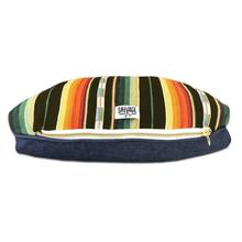 Sundance Serape Rectangulo Dog Bed by Salvage Maria - Black