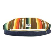 Sundance Serape Rectangulo Dog Bed by Salvage Maria - Brown