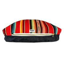 Sundance Serape Rectangulo Dog Bed by Salvage Maria - Red