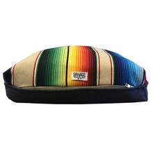 Saltillo Serape Rectangulo Dog Bed by Salvage Maria - Tan