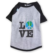 Love Raglan Dog Shirt