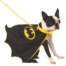 Batman Dog Cape with Light Up Collar and Leash