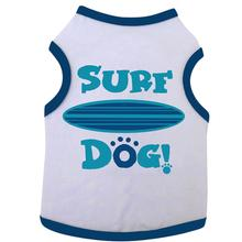 Surf Dog Tank by I See Spot - White and Navy