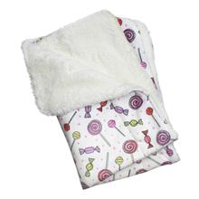 Sweet Candies Ultra Soft Minky/Plush Dog Blanket by Klippo