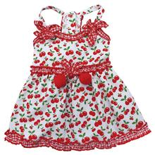 Sweet Cherries Dog Sun Dress by Klippo