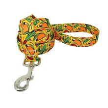 Taco Fiesta Dog Leash by Yellow Dog - Yellow