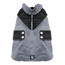 Tacoma Dog Coat - Gray and Black