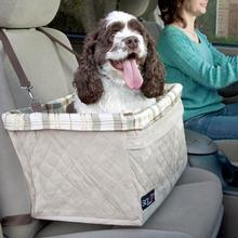 Solvit Tagalong Deluxe Dog Car Seat Booster by PetSafe - Extra Large