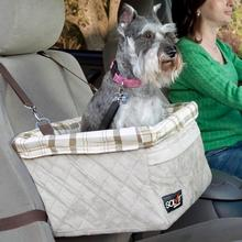 Solvit Tagalong Deluxe Dog Car Seat Booster by PetSafe - Large