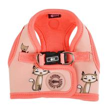 Calypso Step-In Cat Harness by Catspia - Indian Pink