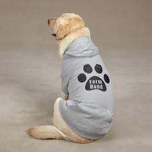 Tailgate Farm Hand Dog Hoodie - Heather Gray
