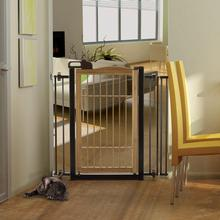 TAKÉ One-Touch Bamboo Pet Gate