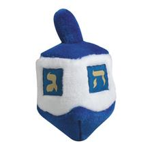 Talking Dreidel Dog Toy