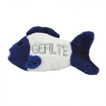 Talking Gefilte Fish Dog Toy
