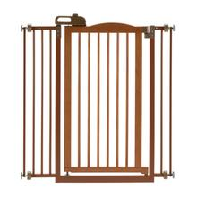 Tall One-Touch Dog Gate II - Autumn Matte