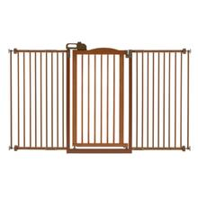 Tall One-Touch Dog Gate II Wide - Autumn Matte