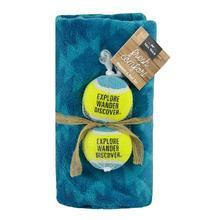 Tall Tails Blanket and Ball Gift Set - Diamond